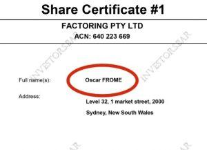 Factoring Ltd украли