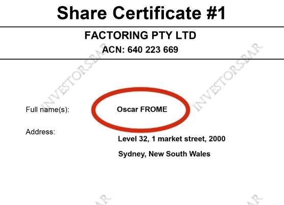 Factoring Ltd stole