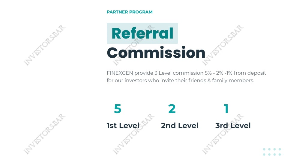 Finexgen.com Referral Program