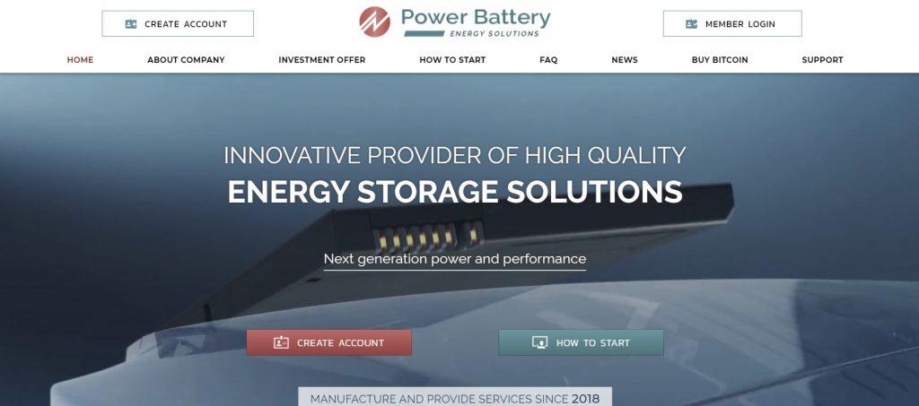 Page principale powerb.biz