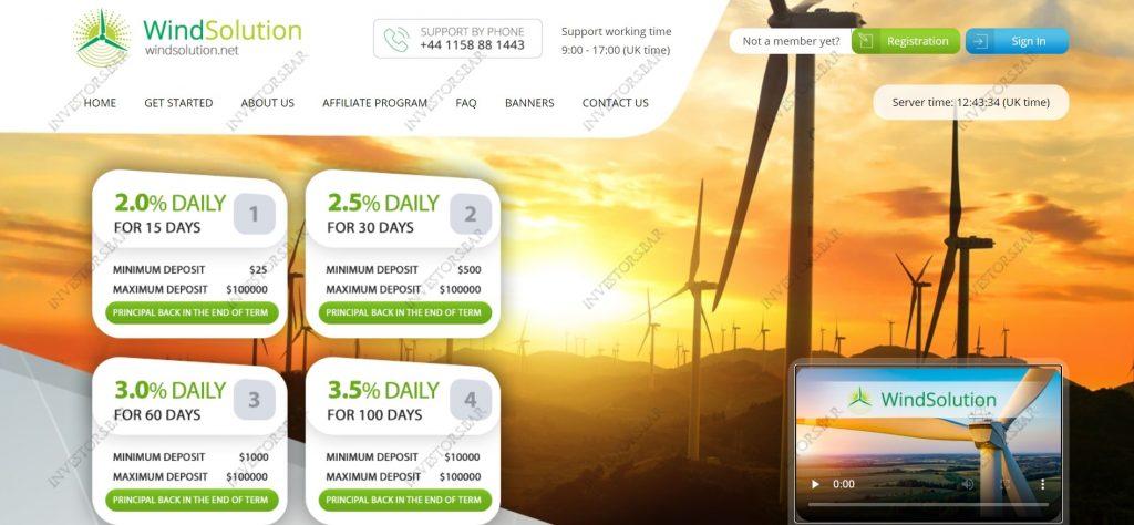 Windsolution.net Site
