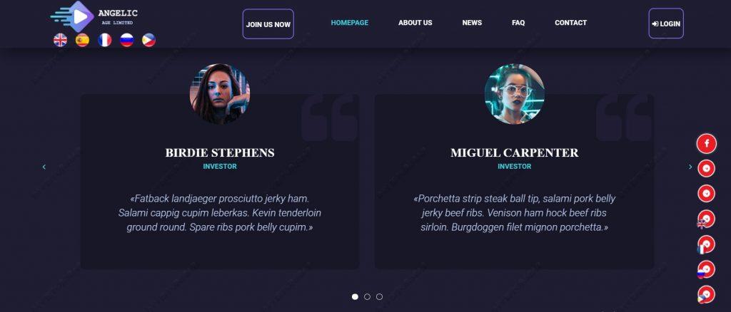Angelicage.com Information