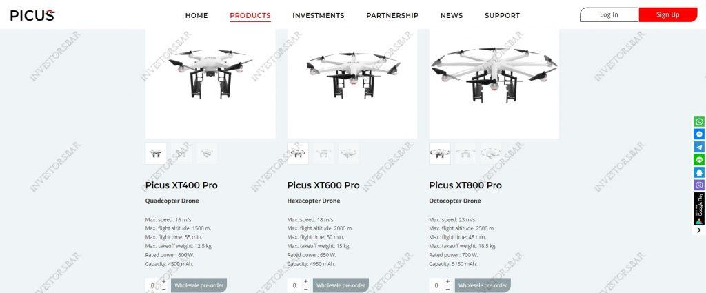 Picus.biz Products
