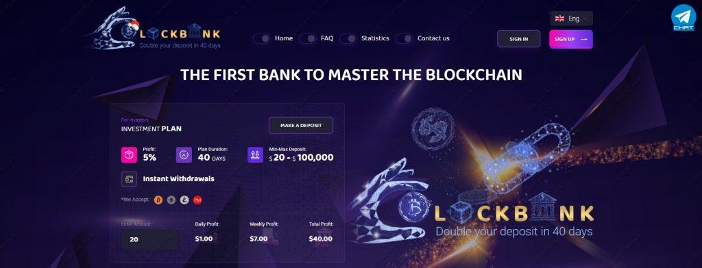 Block-bank.io info