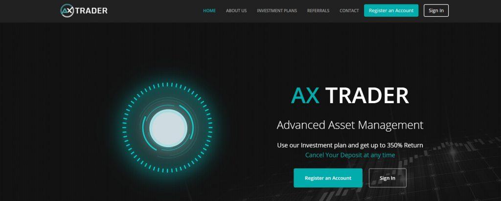 Axtrader.com Site