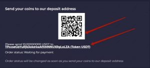 Zetbull.com Deposit Qr code