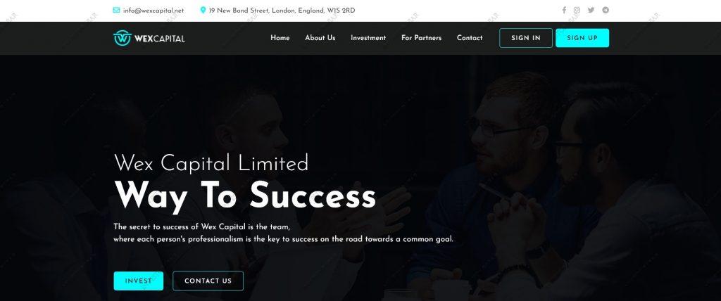 Homepage Wexcapital.net