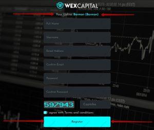 Wexcapital.net Registration