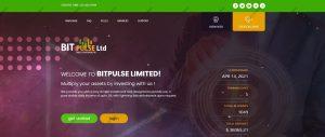 Bitpulse.cc homepage