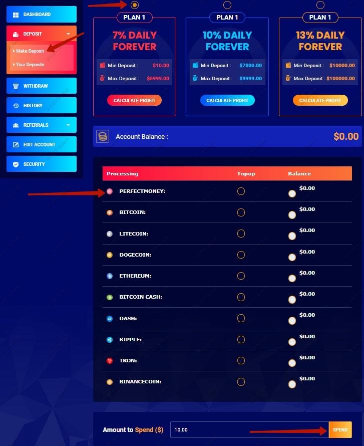 Bitboom.top Deposit