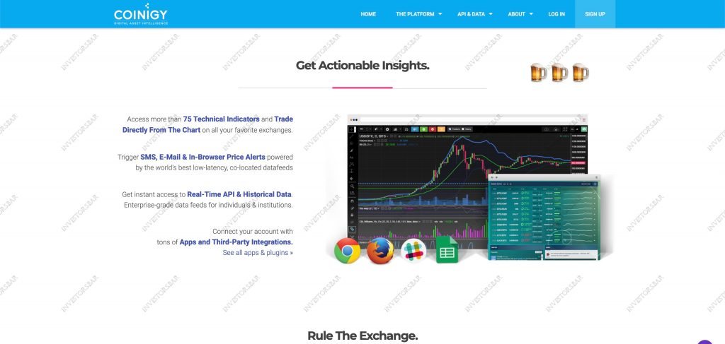 Crypto Trading & Coinigy