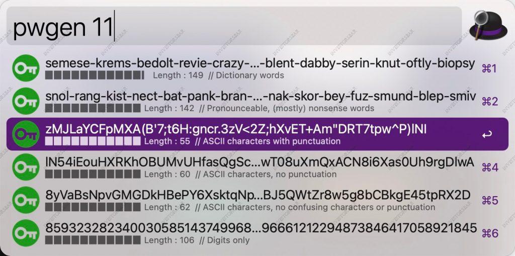 Choisissez l'échange crypto de mot de passe fort