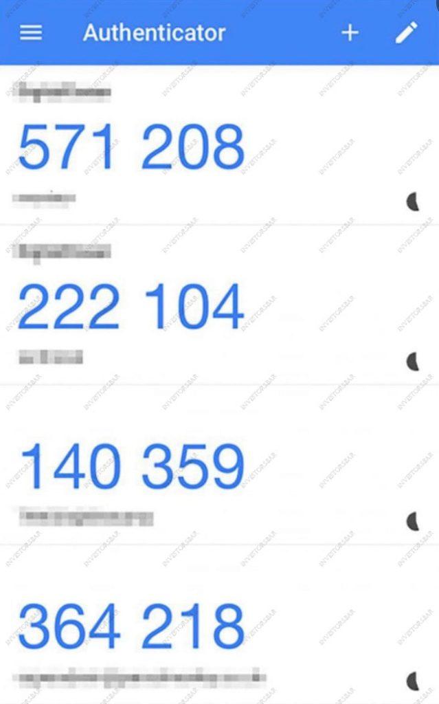 Échange cryptographique de vérification de code Google