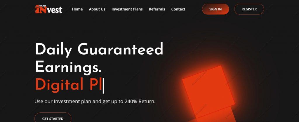 Invest-card.com site